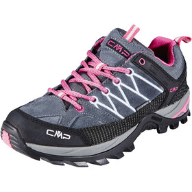 CMP Campagnolo Rigel WP Low-Cut Trekkingschuhe Damen grey-fuxia-ice